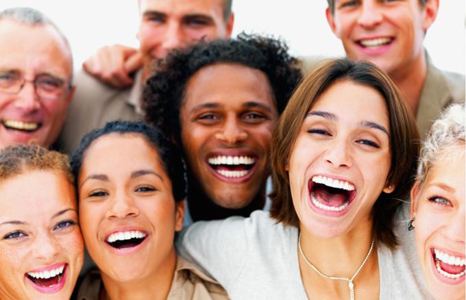 Simplemente ríete todo lo que puedas, es la mejor medicina antiestrés.