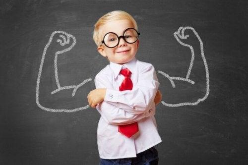 A través del juego, los niños también mejoran su autoestima