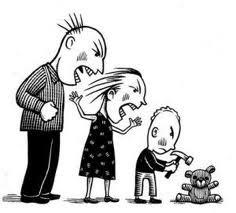 Albert Bandura explicó las consecuencias del aprendizaje vicario. Cuando le enseñamos a un niño un método determinado de resolver conflictos, lo asume como legítimo y tiende a repetirlo.