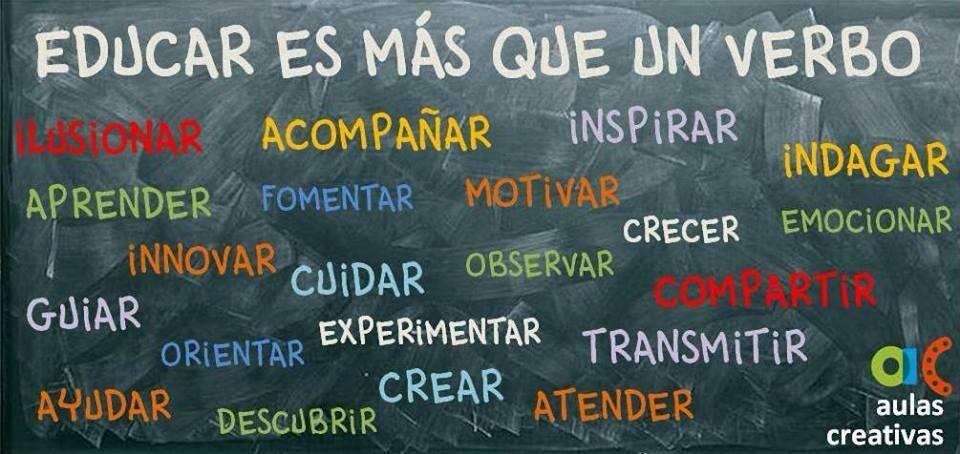 Educar no es fácil porque es un concepto que incluye muchos otros