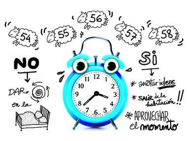 Ante el insomnio, hay actividades que cuidan la higiene del sueño y otras que no